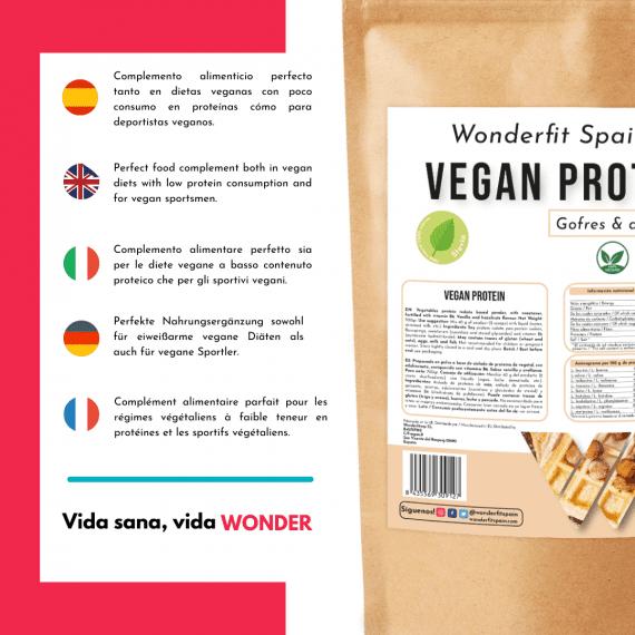 Proteina para deportistas veganos
